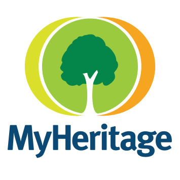 Logo Genealogie Online collectie MyHeritage Family Tree Builder gebruikers
