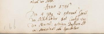 Blocklander, den - Heuvel, van den HUW 1746 (Caatje van den Heuvel)