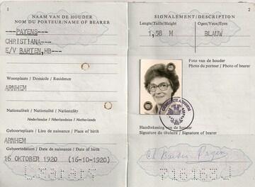 paspoort Christiana Payens