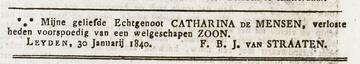 Afbeelding bij Johannes Cornelis Theodorus  van Straaten