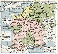 Afbeelding bij Childebert II der Merovingen van Austrasië en Bourgondië