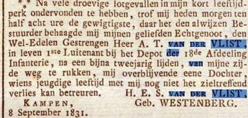 Image for Andries Theodoor  Van Der Vlist