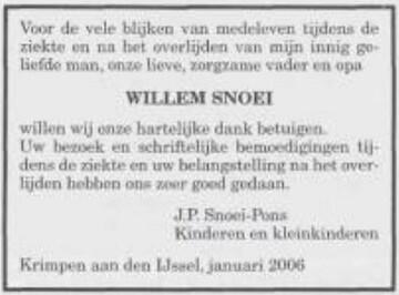 2006-01-19 Willem Snoei (ev JP Pons)_Krimpen aan den IJssel_Wachter Sions_OLF-01892006_overlijden