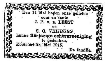 Afbeelding bij Jan van der Leest