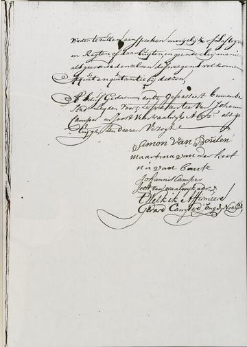 Notaris Gerard Camper de Jonghe, 20 jan 1757 blz 4. (Martijntje Jansdr. van der Kerff)