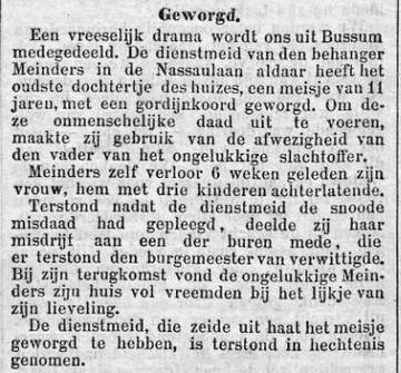 18940821_Rott._NWSblad (Imbertus MEINDERS)