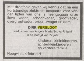 Dirk Versloot