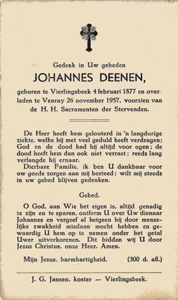 Johannes Deenen