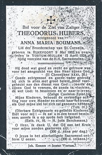 Theodorus Hubers