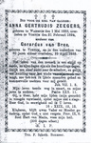 Anna Gertrudis Zegers