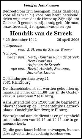 Image de Hendrik van de Streek