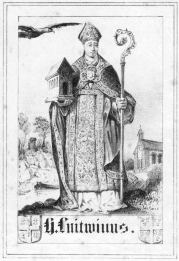 Afbeelding bij Liutwin, de heilige  van Trier