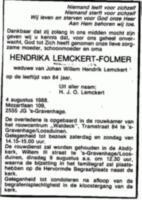 Hendrika Folmer