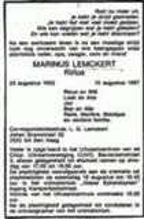 Marinus Lemckert
