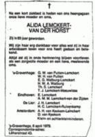 Alida Helen Lemckert