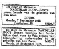 Louis Nagtglas Boot