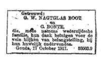 Gerardus Wilhelmus Nagtglas Boot