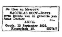 Anna Nagtglas Boot