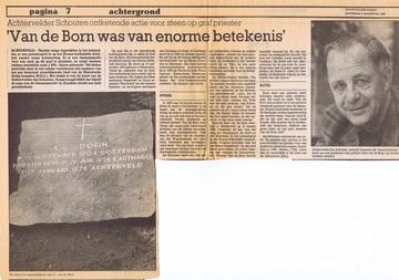 Image for Arie (dr. Adrianus) van den Born