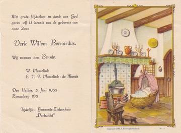 Abbildung bei Ben    (Derk, Willem, Bernardus) Masselink