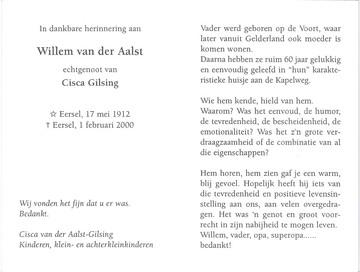 Afbeelding bij Willebrordus  van der Aalst